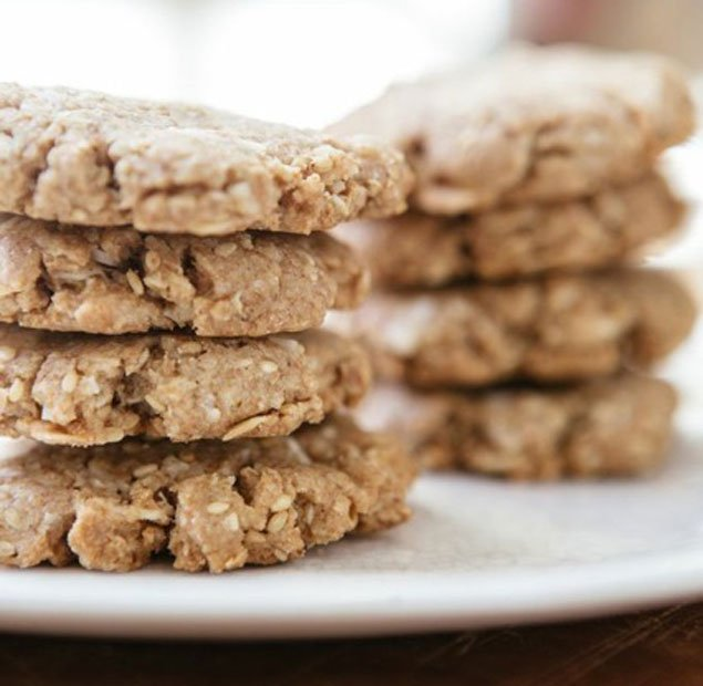 Healthy Recipe: Sesame-Coconut Cookies