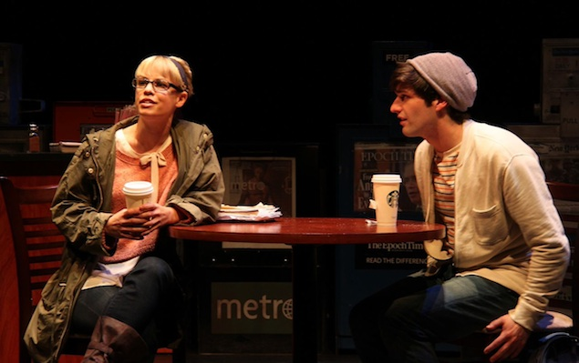 """Theater Review: """"Ordinary Days"""" at Round House Theatre Bethesda"""