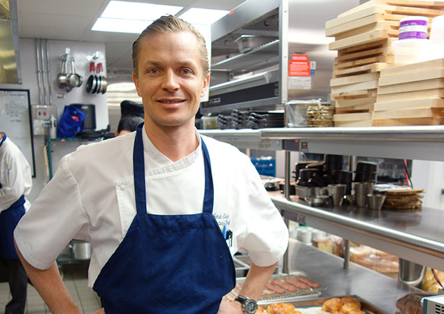 Chef Jakob Esko Will Leave the Capella's Grill Room and Rye Bar