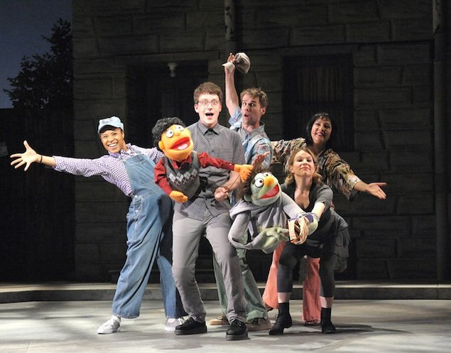 """Theater Review: """"Avenue Q"""" at Olney Theatre"""
