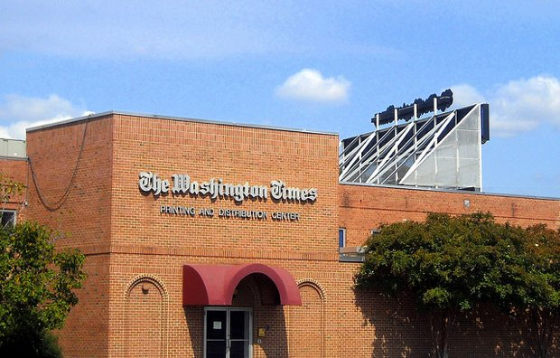 """The Washington Times and the Redskins Are Now """"Content Partners"""""""