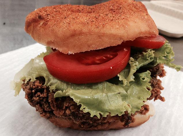 Astro Will Serve an Old Bay-Doughnut Fried-Chicken Sandwich