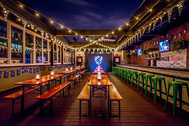 Sauf Haus Beer Garden Opens In Dupont Washingtonian Dc