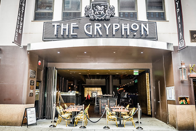 "The Gryphon Reopens as a ""Meat and Raw Bar Social House"""