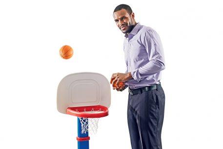 Trevor Booker Off the Basketball Court