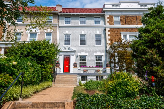 Listing We Love: A 7-Bedroom Wardman Rowhouse in Woodley Park