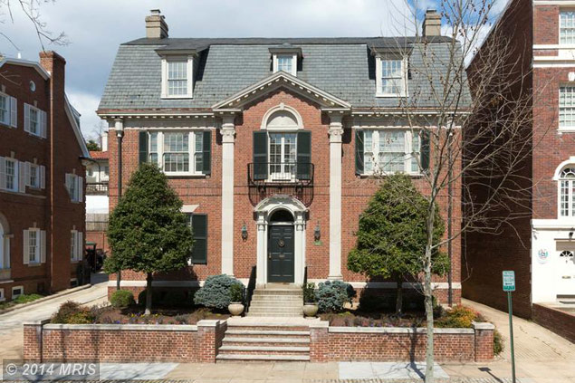 Most Expensive Homes on the Market: A .99 Million Classic Mansion in Kalorama