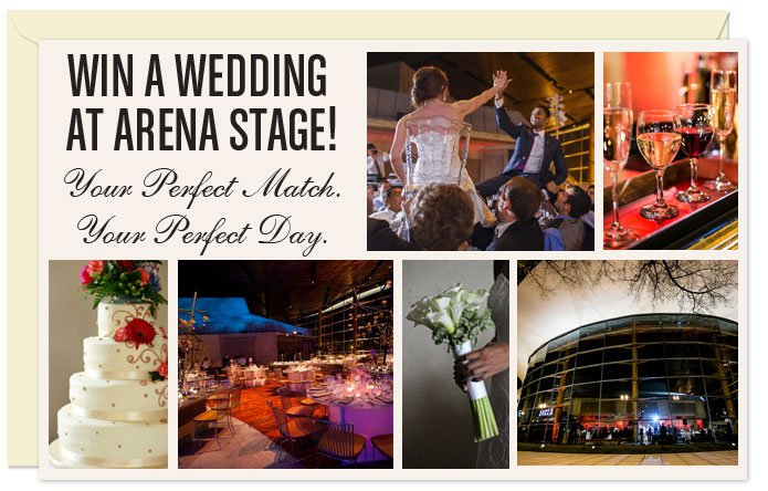 Win a Free Wedding Courtesy of Arena Stage