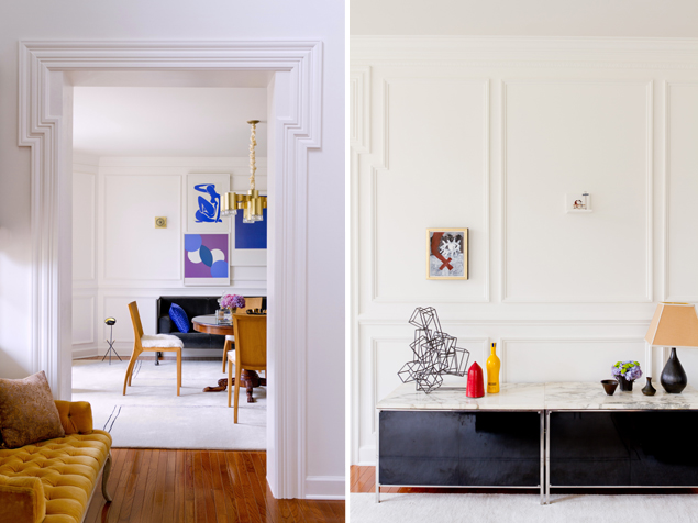 Home Envy: Take a Peek Inside This Interior Designer's French-Meets-Modern Home