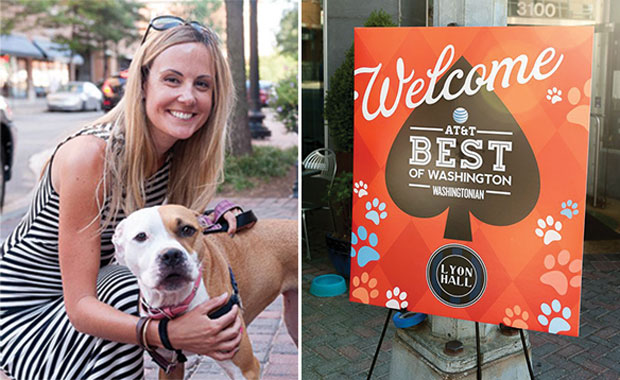 AT&T Best of Washington Yappy Hour at Lyon Hall (Photos)