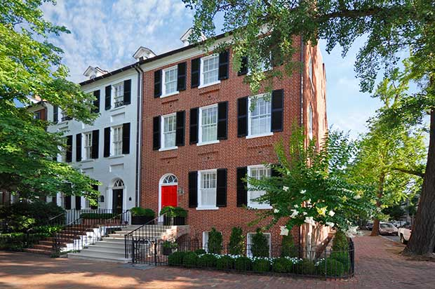 Most Expensive Homes on the Market: A .5 Million Award-Winning Townhouse in Georgetown