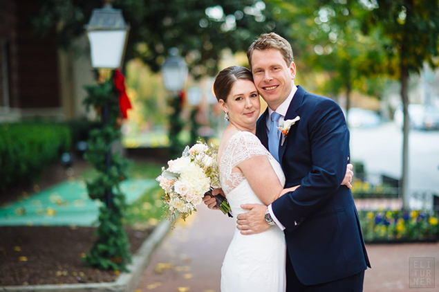 Real Wedding: Caroline and Gavin
