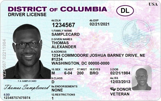 TSA Employees Will Be Trained to Recognize DC Driver's Licenses