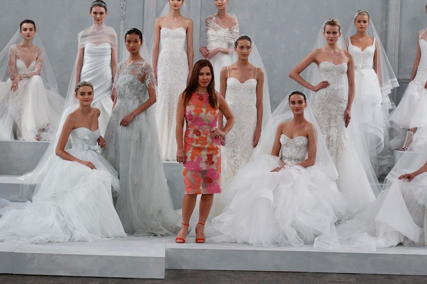 Q&A With Bridal Gown Designer Monique Lhuillier