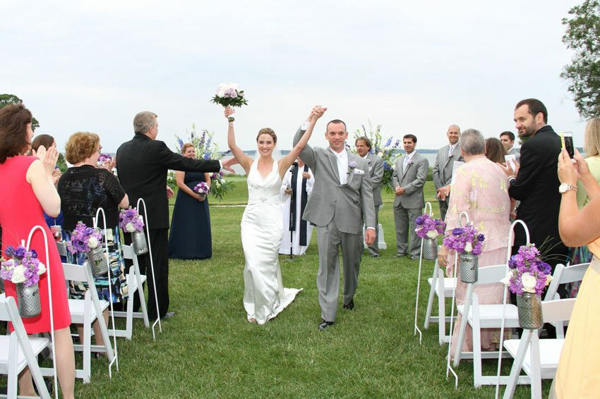 Real Wedding: Michelle and Nicholas Powstanski