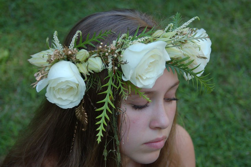 Bridal DIY: How to Make a Floral Crown