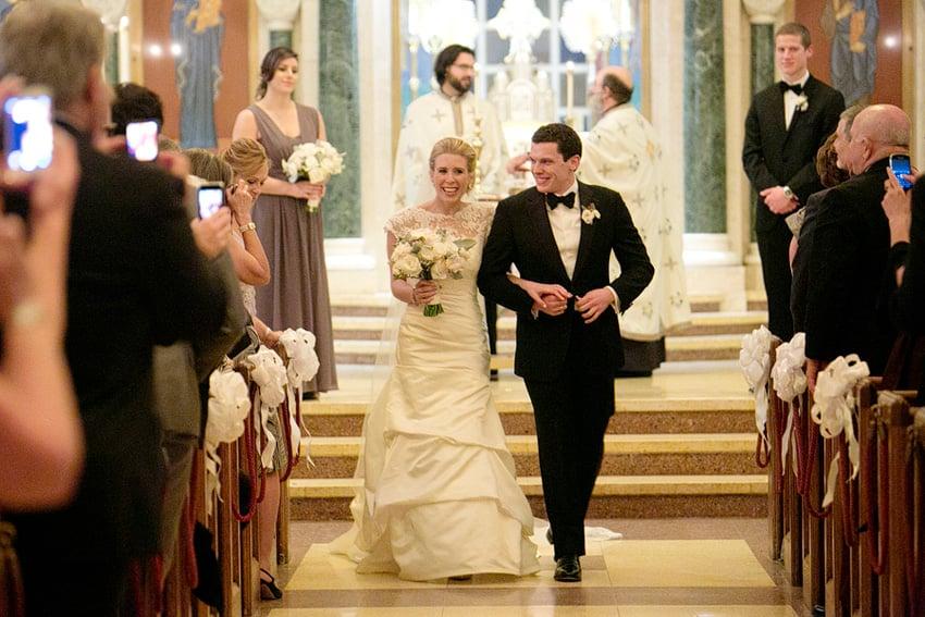 Real Wedding: Diana Doukas and Matt House