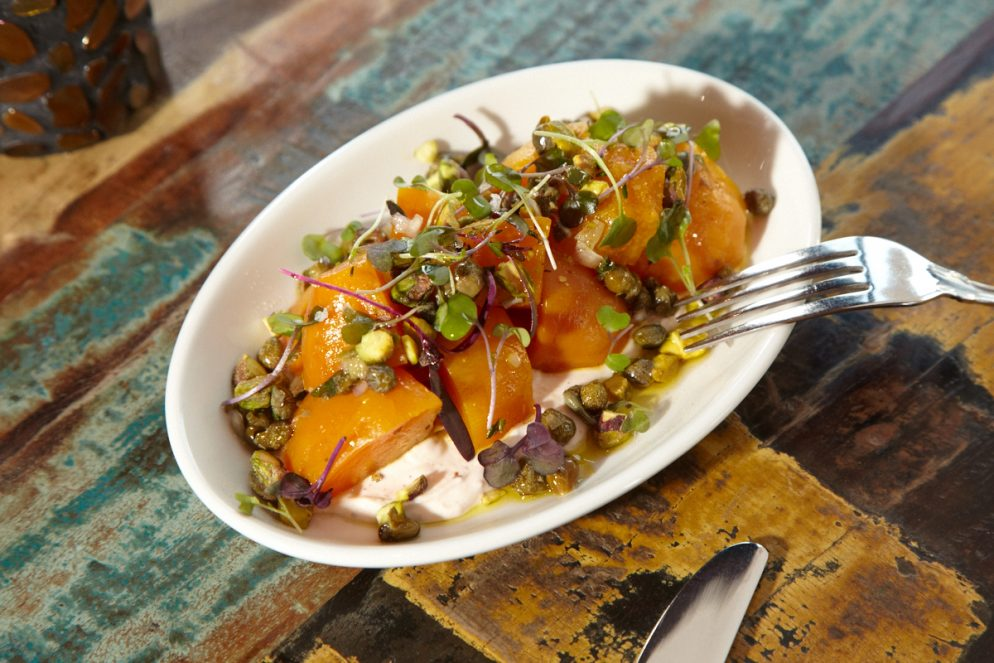 Recipe: Roasted Beets with Pistachios and Spicy Yogurt from Tico