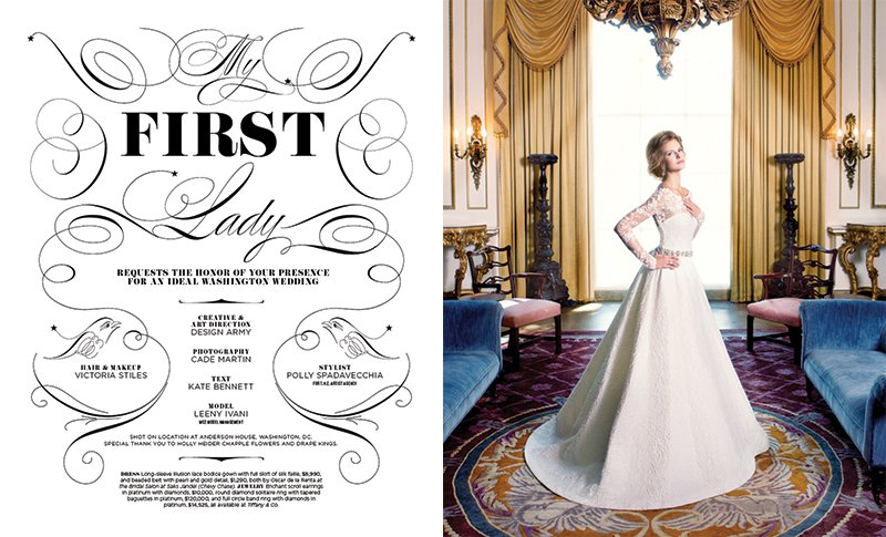 From the Archives: Wedding Gowns Fit For a First Lady