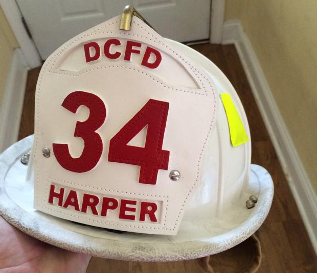 Here's How Bryce Harper Got His Fire Helmet