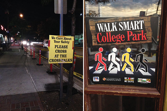 "College Park Learns to ""Walk Smart"""