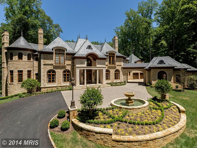 Most Expensive Homes on the Market: A .9 Million Chateau in McLean