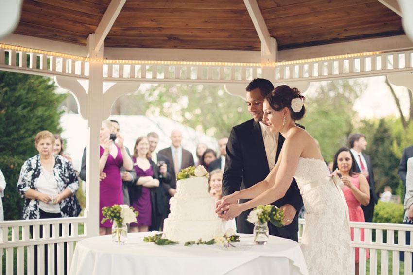 Real Wedding Dara And Alex Santos Washingtonian
