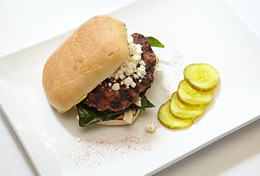 Recipe: Lamb Burgers from Brandon's Little Truck