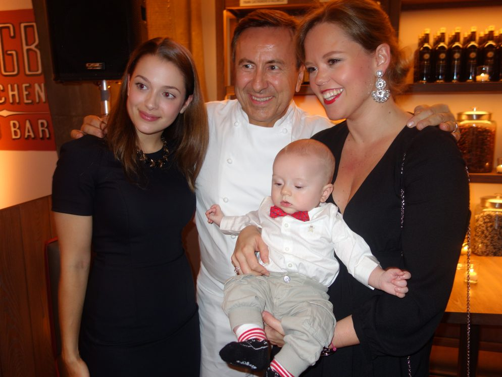 Chef Daniel Boulud Got Upstaged by a Baby at Opening of His DBGB DC Restaurant
