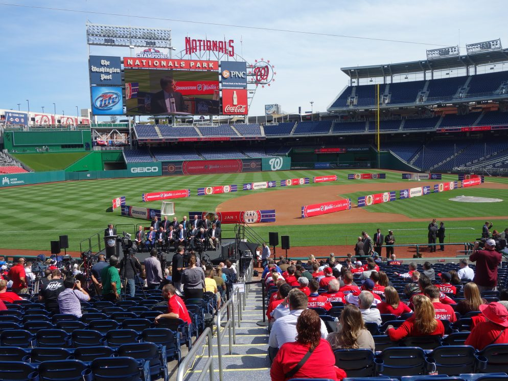 In 100 Days, the NHL Winter Classic Will Be Played at Nats Park