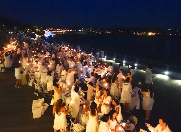 What a Party: Inside Foodie Flash Mob Dîner en Blanc (Photos)