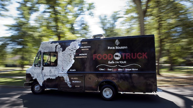 Street Swank: The Four Seasons Has a Food Truck