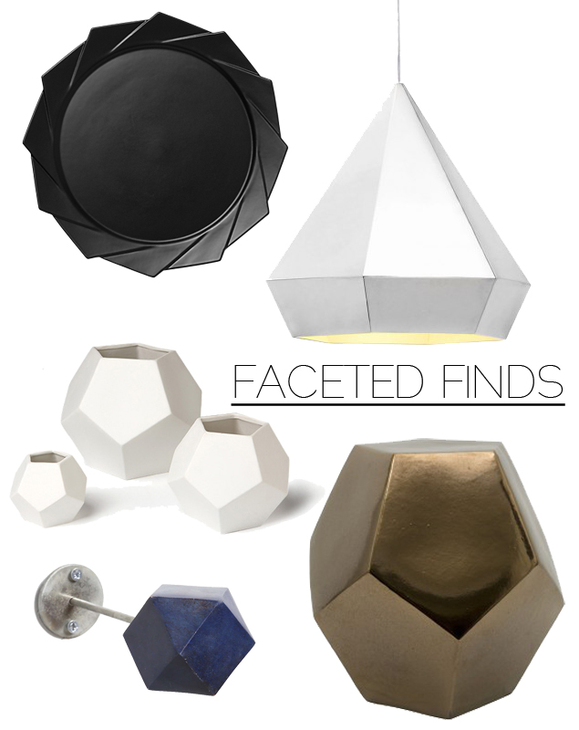 Try This Trend: Sculpted Geo Home Decor