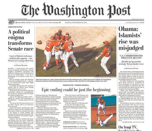 No-Hitters Weren't Always Front-Page News in Washington