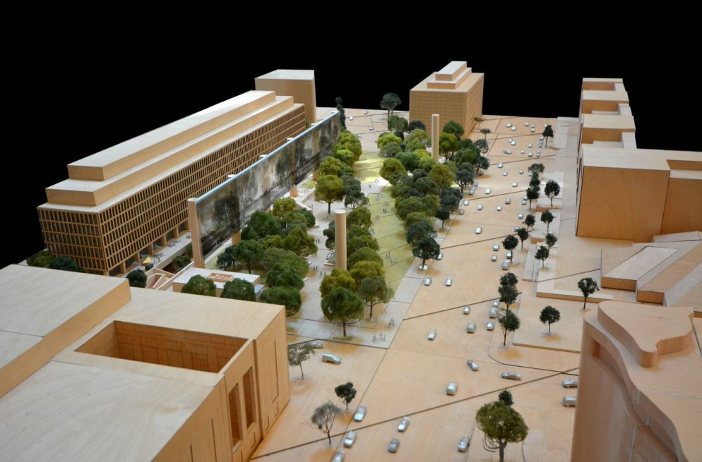 Frank Gehry's Way or the Highway for the Eisenhower Memorial