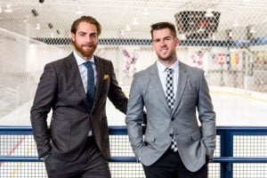 Washington Capitals Players Braden Holtby and Mike Green Talk Men's Fashion (Photos)