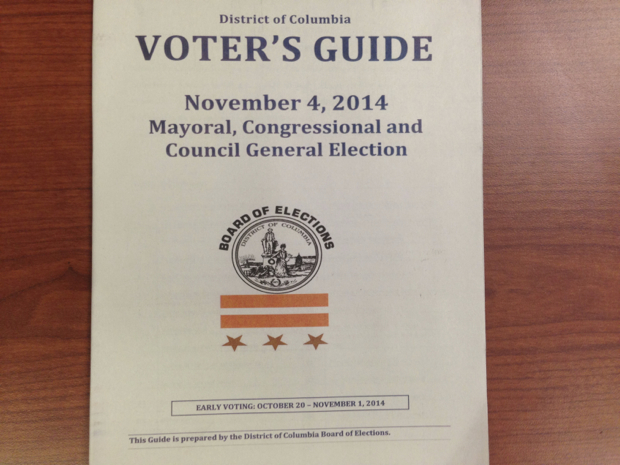 Here's How DC Wound Up With an Upside Down Flag on the Voter Guides