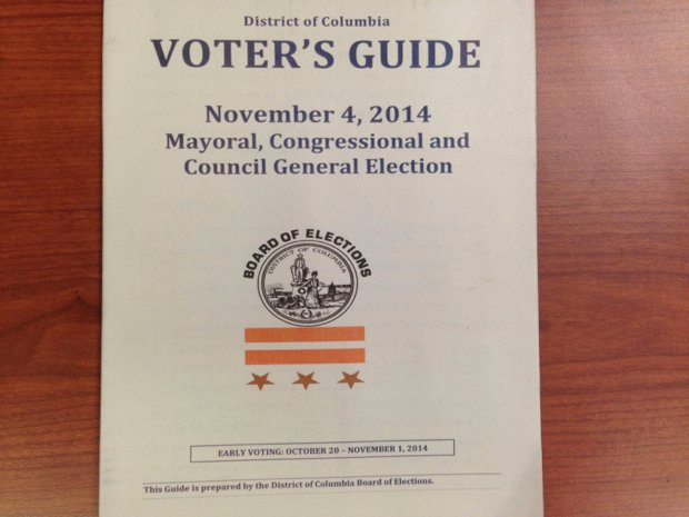 DC Elections Board Printed Its Voter Guides With the District Flag Upside Down