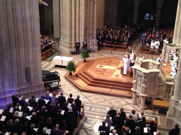 Boldfaced Washington Pays Tribute to Ben Bradlee at National Cathedral