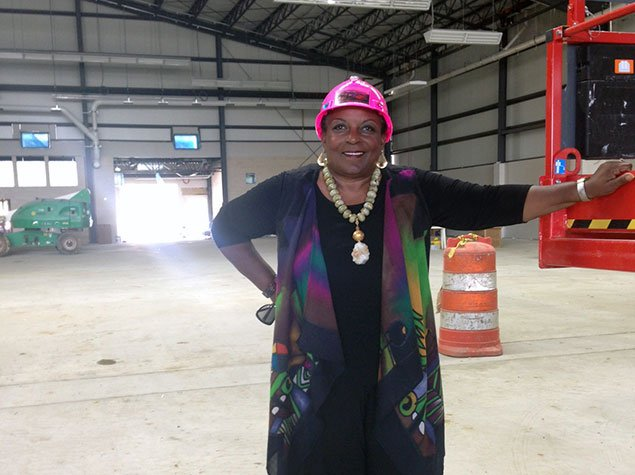Cora Masters Barry Previews the Renovated Southeast Tennis and Learning Center