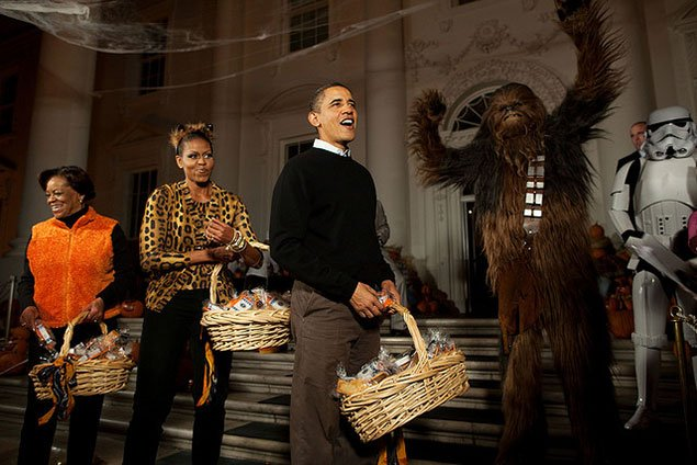 A History of Halloween Celebrations at the White House