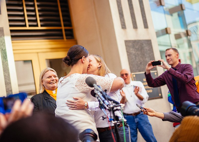 Photos: Arlington County's First Legal Same-Sex Marriage Ceremony