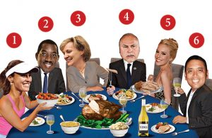 Washingtonian's November 2014 Guest List