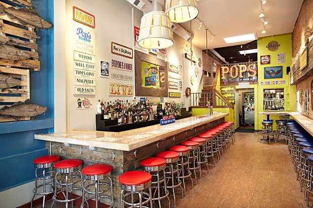 Pop's SeaBar Offers Free Beer and Prosecco for Life