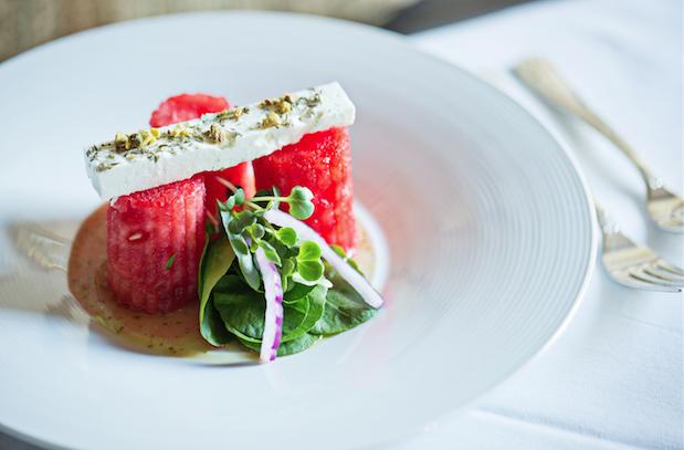 Recipe: Watermelon-and-Feta Salad from Ananda