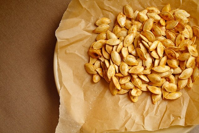 Meatless Monday Recipe: Suzanne Goin's Candied Pumpkin Seeds