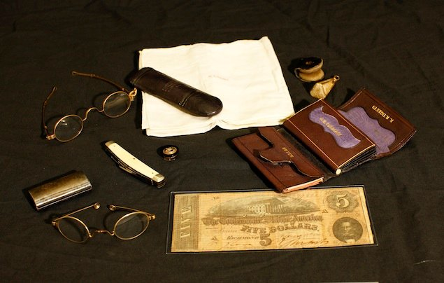 The Things He Carried Abraham Lincoln S Top Hat And Other