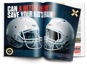 Can a Better Football Helmet Save Your Kid's Brain?