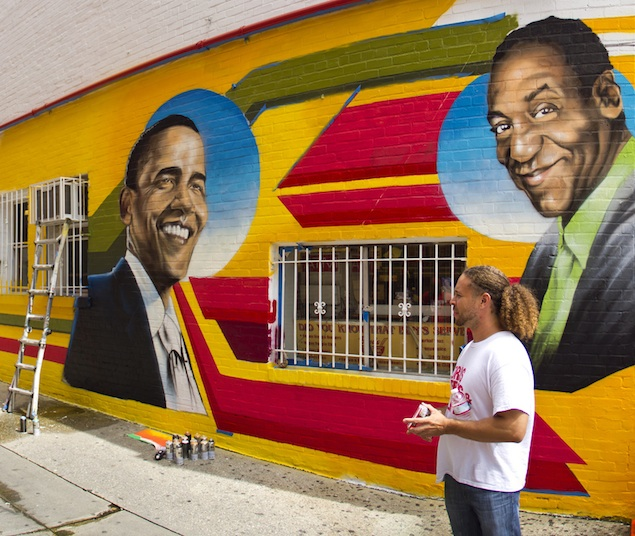 Reconsidering Ben's Chili Bowl's Bill Cosby Mural