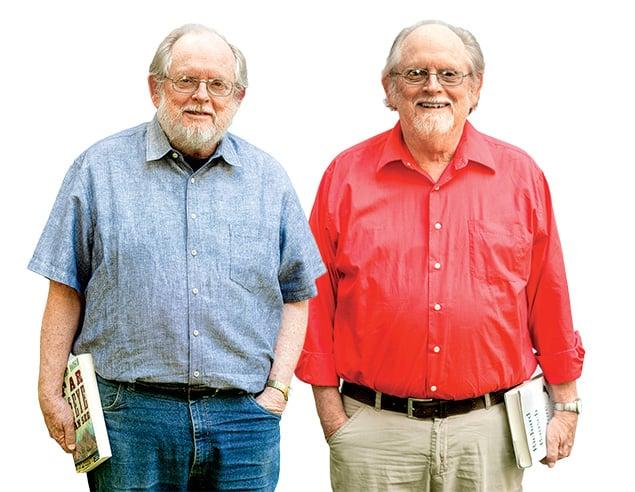 Meet Identical-Twin Novelists Richard and Robert Bausch